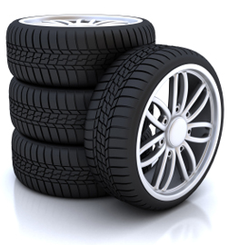 A Good Set Of Tyre's And Rims