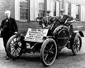 An Early Electric Car