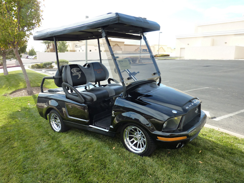 A Custom Built Electric Car