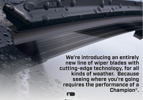 Champion Wiper Blades-Review