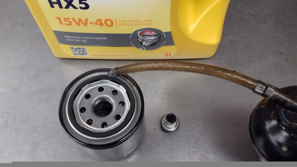 Lubing The Oil Filter Seal