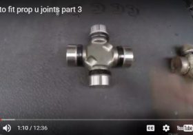 How To Fit Prop U Joints-Part 3-Video Illustrated