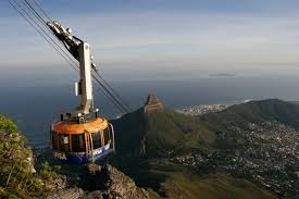 One of Cape Town's Cable Cars