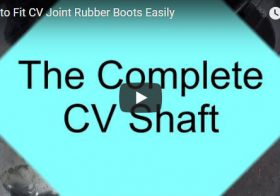 How To Fit CV Joint Rubber Boots Easily