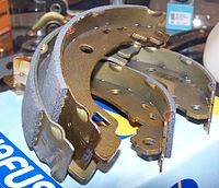 Bonded Rear Brake Shoes