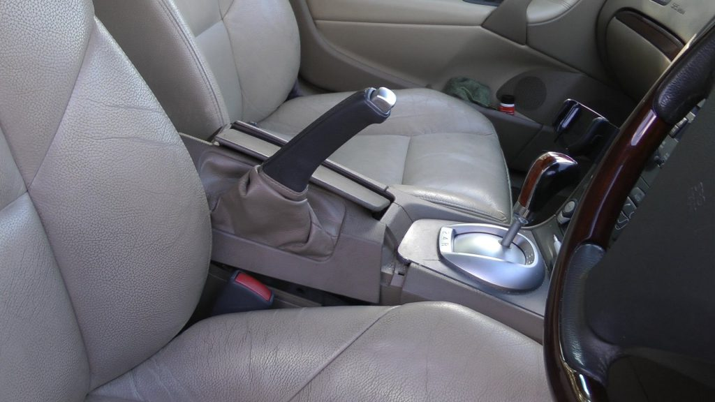 A Typical Hand Brake Lever