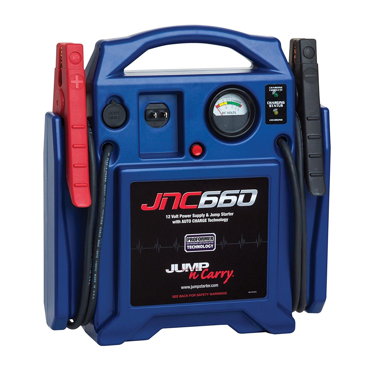 JNC660 Battery Jump Pack-Review 12v system 1700 Peak Amps 225