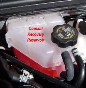 An Example Of A Coolant Expansion Tank