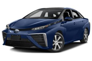 Toyota Mirai-Hydrogen Powered