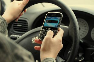 Distractions while driving causes accidents