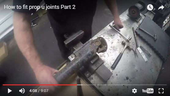 How to fit prop u joints, part 2-Video Illustrated