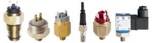 Different Oil Pressure Switches used on various cars