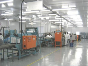 G.U.D. Diesel filter manufacturing facility
